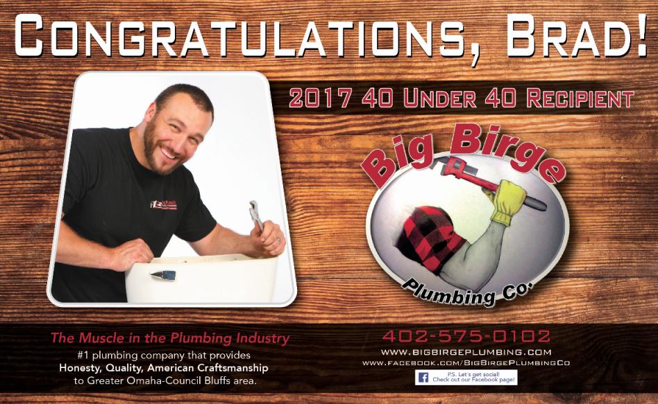 Congratulations, Brad!
